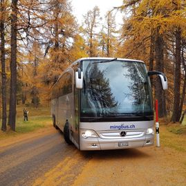 Bus tours – Coaches – Transport – Ming Bus AG – Sils – Segl Maria – Engadine 13
