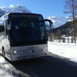 Bus tours – Coaches – Transport – Ming Bus AG – Sils – Segl Maria – Engadine 7