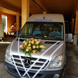 Weddings – Coaches – Transport – Ming Bus AG – Sils – Segl Maria – Engadine 8