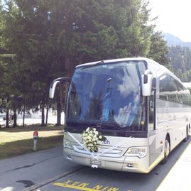 Weddings – Coaches – Transport – Ming Bus AG – Sils – Segl Maria – Engadine 11