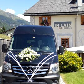 Weddings – Coaches – Transport – Ming Bus AG – Sils – Segl Maria – Engadine 16