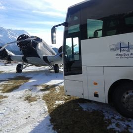 Bus tours – Coaches – Transport – Ming Bus AG – Sils – Segl Maria – Engadine 2