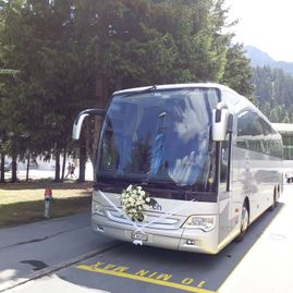 Weddings – Coaches – Transport – Ming Bus AG – Sils – Segl Maria – Engadine 12