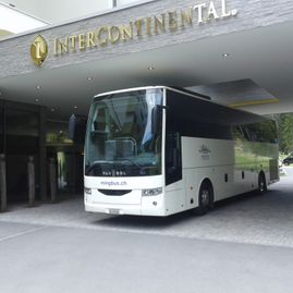 Bus tours – Coaches – Transport – Ming Bus AG – Sils – Segl Maria – Engadine 1