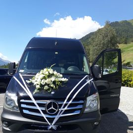 Weddings – Coaches – Transport – Ming Bus AG – Sils – Segl Maria – Engadine 1